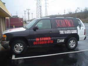Scarface The Video Game Truck Wrap - Black