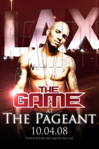 The Game Concert at The Pageant